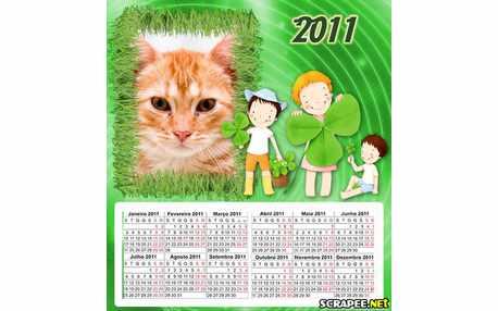 Moldura - Calendario Infantil