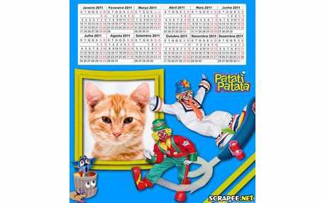 Moldura - Calendario Patatipatata