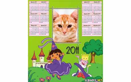 Moldura - Calendario Da Dora