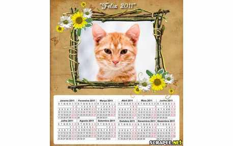 Moldura - Calendarios Para 2011