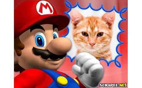 Moldura - Joguinho Do Mario