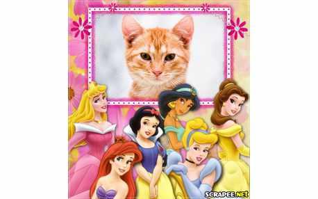Moldura3399 princesas
