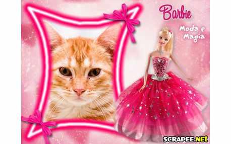 Moldura - Barbie Moda  Magia