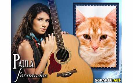 Moldura - Cantora Paula Fernandes