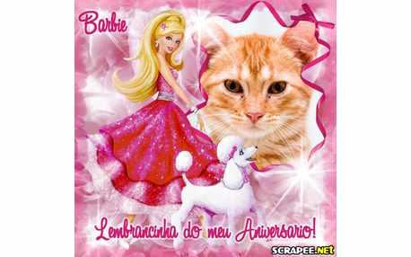Moldura - Lembrancinha Da Barbie