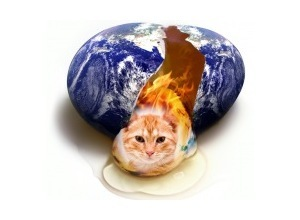 Scrapee.net - Photomontage Earth Egg