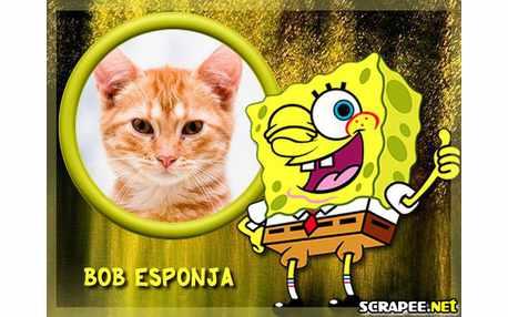 Moldura - Bob Esponja