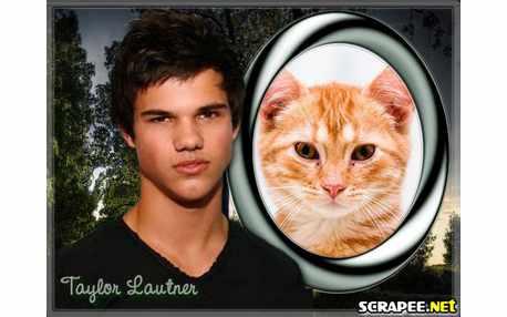 Moldura3562 Taylor Lautner