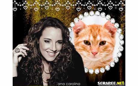 Moldura - Cantora Ana Carolina