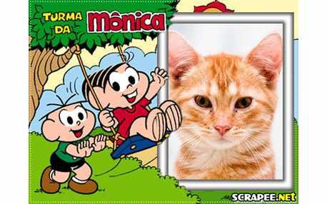 Moldura - Turma Da Monica