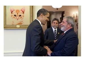 Scrapee.net - Photomontage Lula and Obama