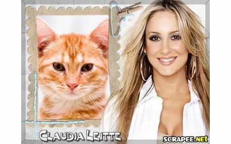 Moldura3604 Claudia Leitte