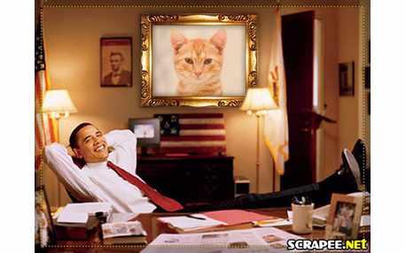 Moldura - Barack Obama