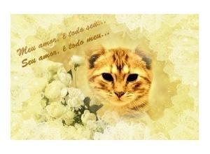 Moldura - Love Phrase