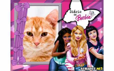 Moldura - Diario Da Barbie