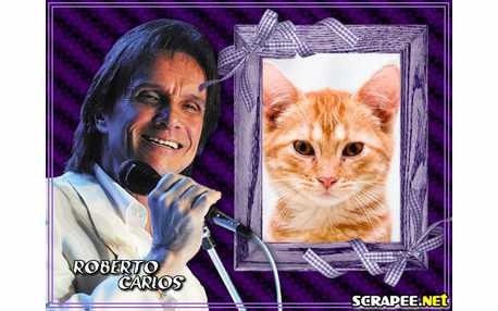 Moldura3694 Rei Roberto Carlos