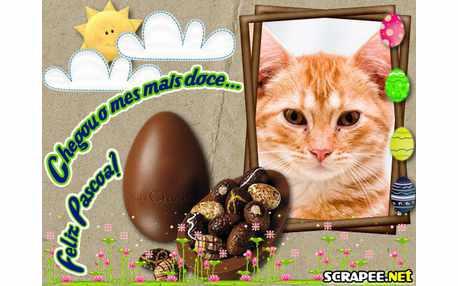 Moldura - Mes Dos Chocolates