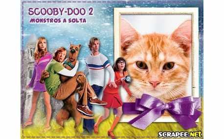 Moldura3744 Scooby doo 2