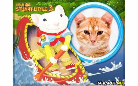 Moldura - Pequeno Stuart Little 3