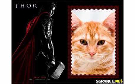 Moldura - Filme Thor