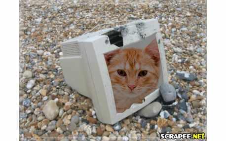 Moldura - Computador Quebrado