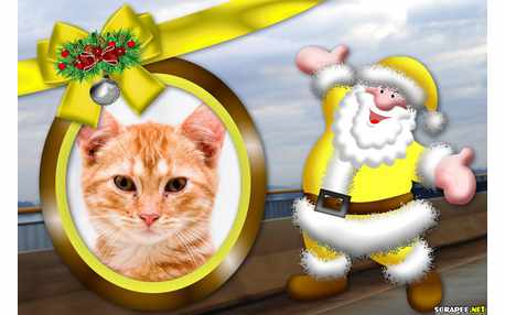 5058-Papai-Noel-Amarelo