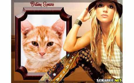 Moldura - Britney Spears