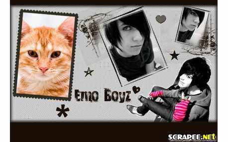 Moldura - Emo Boyz