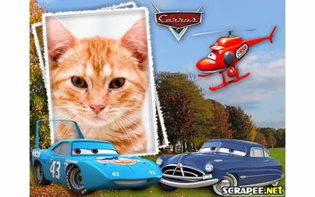 Moldura - Filme Cars