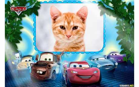 Moldura - Cars 2