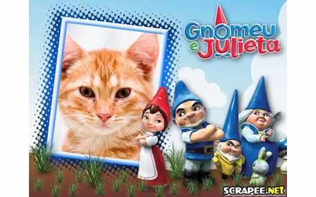 Moldura - Filme Gnomeu E Julieta