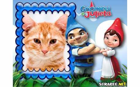 Moldura4154 Gnomeu e julieta