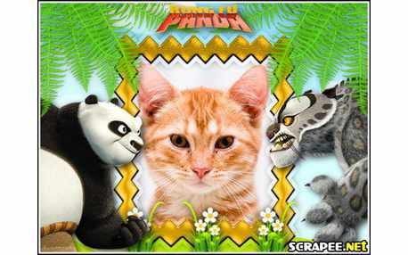 Moldura - Filme Kung Fu Panda