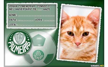 Moldura - Convite Do Palmeiras