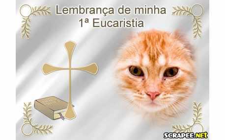 Moldura - Primeira Eucaristia
