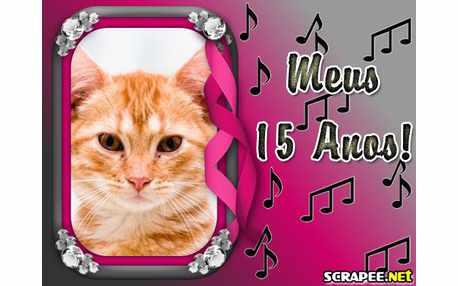 Moldura - Lembranca Para 15 Anos