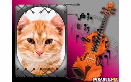 Moldura - Violino Feminino