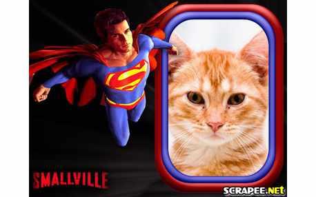 Moldura - Smallville Heroi