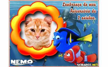 Moldura - Lembranca De 2 Anos Do Nemo