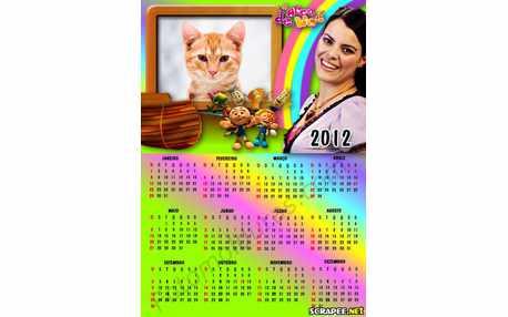 Moldura - Calendario Arca De Noe   Diante Do Trono