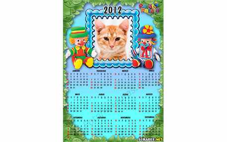 Moldura - Calendario Patati Patata Baby