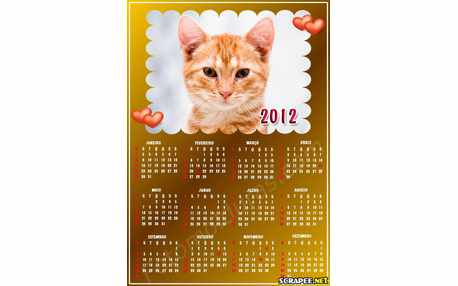 Moldura - Calendario Para Adulto