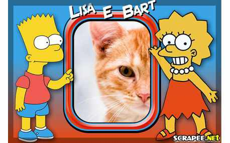 4717-Lisa-e-bart-Simpsons
