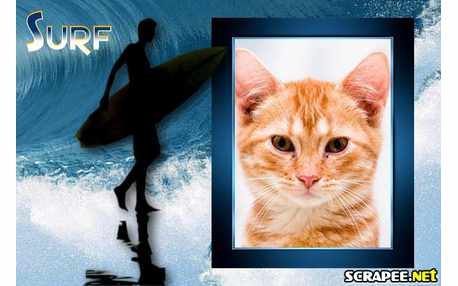 Moldura - Surfista