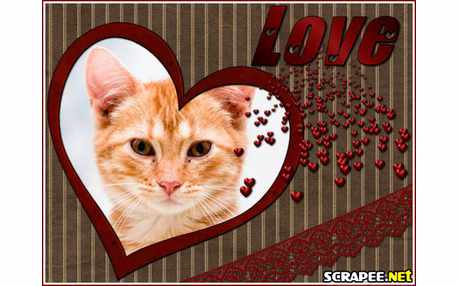 Moldura - Love   Amo
