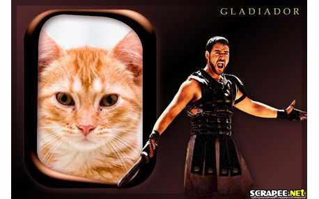 Moldura - Gladiador