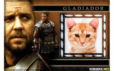 Moldura - Moldura Do Gladiador