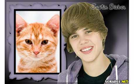 Moldura4841 Justin Bieber   moldura