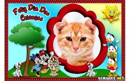 Moldura4846 Feliz Dia da Crianca