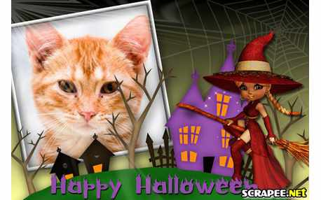 Moldura - Halloween